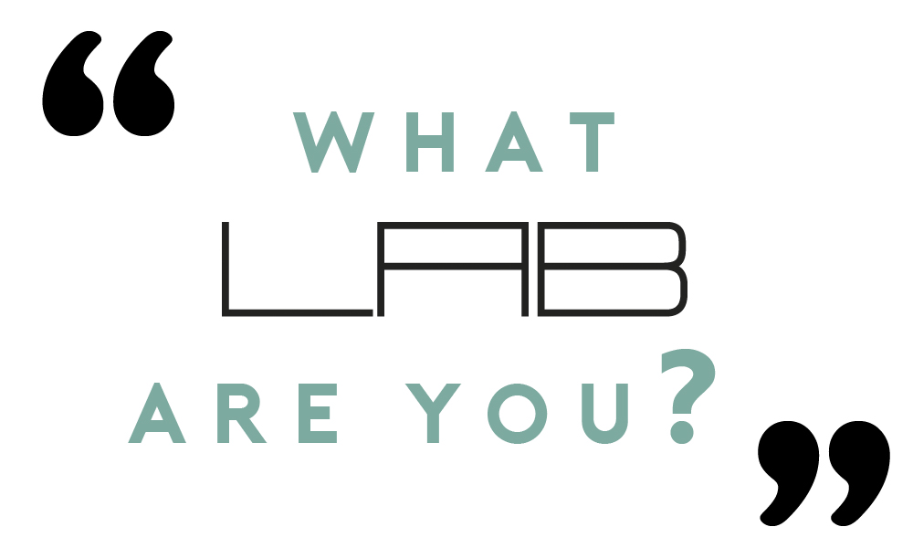 WHAT LAB ARE YOU